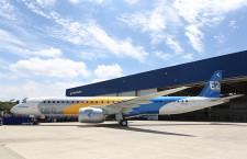 エンブラエル、E195-E2ロールアウト 数カ月以内に初飛行