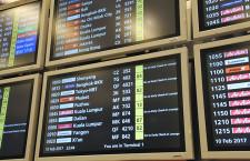 国際・国内利用率55.4% IATA、2月旅客実績