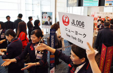 JAL、羽田からニューヨーク線復活 植木社長「乗継の利便性高めた」