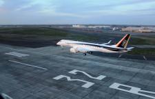 MRJ、3号機が米国到着 4機で飛行試験、5号機は設計変更用に