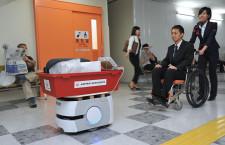 JAL、手荷物の運搬ロボット実証実験 福岡空港、28日まで