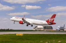 エアバス、A321neo初号機納入 ヴァージン・アメリカ、LEAP機リース導入