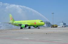 S7航空、関西-ウラジオストク就航 週2往復、9年ぶり路線復活