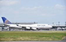 ユナイテッド航空の747、日本路線6月で終了 成田発UA838便