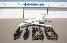 エンブラエル、ビジネスジェット納入1100機