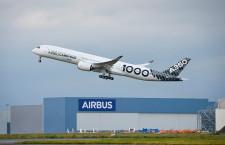 A350-1000、初の長距離飛行 12時間、ヴァージンCAらと