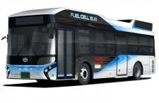 関空、水素燃料電池バスの運行実証 旅博で試乗会も