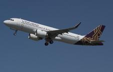 印ビスタラ、A320neo初号機受領 LEAP機、リース導入
