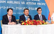 ジェットスター・パシフィック、関空-ハノイ/ダナン9月就航 ベトナム航空が関空強化