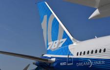 ボーイング、10月納入13機 受注2カ月連続ゼロ
