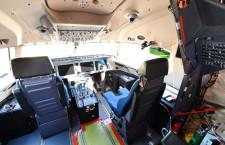 MRJ、試験機の機内公開 水谷社長「将来のビジネスつなげたい」