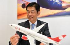 「信頼性ある人気機種」JIA白岩社長に聞く737 MAX 8選定理由