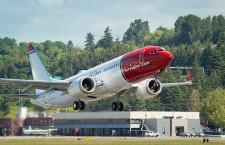 ノルウェー・エアシャトル、737 MAX 8受領 欧州初