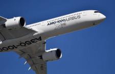 A350-1000試験機の機内と飛行展示 写真特集・パリ航空ショー2017(2)