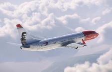 ノルウェー・エアシャトル、尾翼にフレディ・マーキュリー 787と737