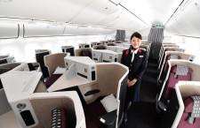 個室感とペア利用両立目指す 写真特集・JALスカイスイート787-9新仕様機