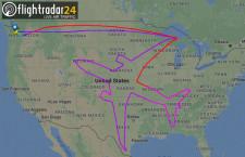 ボーイング、787-8で一筆書き 18時間の飛行試験で