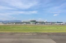 福岡空港、国際線の施設利用料改定 消費増税で