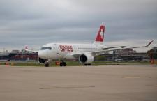 スイス国際航空、ロンドン・シティ線にCS100 急角度進入の認証取得で
