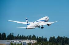 エルアル・イスラエル航空、787初号機受領 ALCからリース