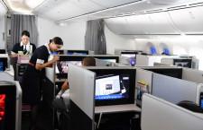 片道10時間でも疲れにくい787 特集・JAL成田-メルボルン初便に乗ってみた