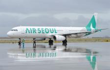 エアソウル、関空就航 1日2往復、仁川線8社目