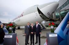 カタール航空、747-8F貨物機2機発注 777-300ERも4機