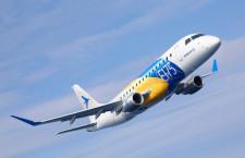 スカイウェスト、エンブラエルE175を20機追加発注 45機に、MRJ遅延影響か