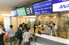 ANA、成田-ロサンゼルス増便 東京から1日3往復