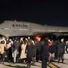 デルタ航空の747、日本最終便 成田の旅客型ジャンボ、姿消す