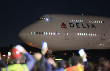 ノースウエスト時代から日米便支えたジャンボ 写真特集・デルタ航空747日本退役