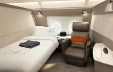 シンガポール航空、A380の機内刷新 スイート減、プレエコ増