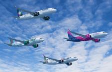 米投資会社、A320neoファミリー430機発注 傘下LCC 4社導入