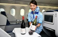 ANA、機内やラウンジでボジョレー提供