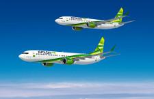 アボロン、737 MAXを75機発注 オプション20機も