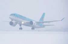 大韓航空、CS300初号機受領 年内に2号機も
