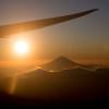 ANA、富士山近くで初日の出フライト 高度1万3000フィート