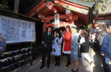 ソラシドエア、初の初日の出フライト 青島神社初詣ツアー