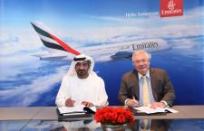 エミレーツ航空、A380を最大36機発注 生産中止免れる