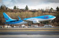 独TUIグループ、737 MAX 8受領 初号機、ベルギー運航