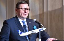 LOTポーランド航空、五輪までに日本路線増 CEO、羽田・関空に興味