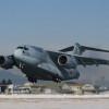 空自、C-2初の任務飛行 硫黄島へ戦没者遺骨収集団