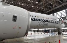 JAL初のロールス・ロイス製エンジン 写真特集・A350-1000羽田初公開(前編)