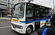 ANAとソフトバンク、羽田で自動運転バス実験 20年以降実用化へ