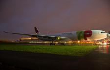 A330-900neo、TAPポルトガル航空塗装でロールアウト