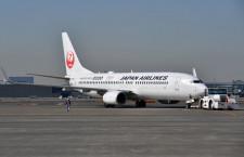 JAL、羽田-南紀白浜に737-800 10月から1日2往復に