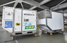 国交省、冷凍板使用の航空コンテナ 運用コスト削減、輸出拡大目指す