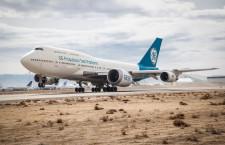 GE9Xが初飛行 777X向け、推力10万ポンド
