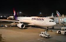ハワイアン航空、日本路線運休 5月まで