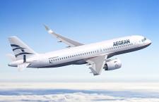 エーゲ航空のA320neo、PWエンジン選択 最大62機